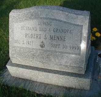 MENNE, ROBERT S. - DuPage County, Illinois | ROBERT S. MENNE - Illinois Gravestone Photos
