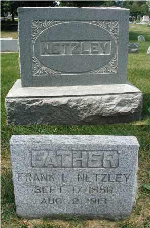 NETZLEY, FRANK L. - DuPage County, Illinois   FRANK L. NETZLEY - Illinois Gravestone Photos