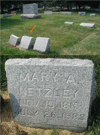 NETZLEY, MARY A. - DuPage County, Illinois | MARY A. NETZLEY - Illinois Gravestone Photos