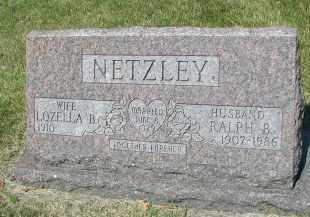 NETZLEY, RALPH B. - DuPage County, Illinois | RALPH B. NETZLEY - Illinois Gravestone Photos