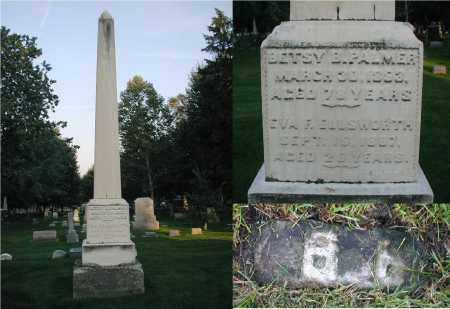 ELLSWORTH, EVA F. - DuPage County, Illinois | EVA F. ELLSWORTH - Illinois Gravestone Photos