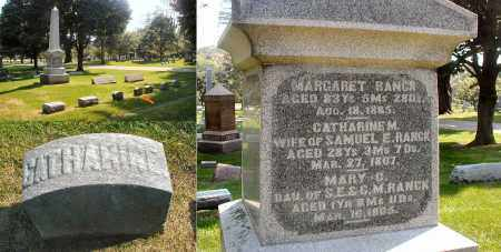 RANCK, CATHERINE M. - DuPage County, Illinois | CATHERINE M. RANCK - Illinois Gravestone Photos