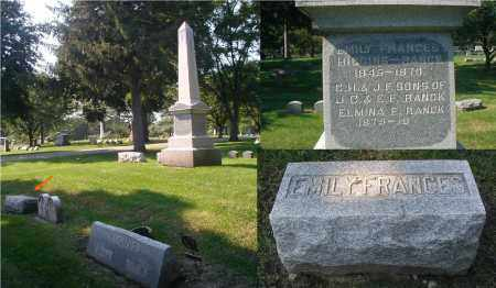 RANCK, EMILY FRANCES - DuPage County, Illinois | EMILY FRANCES RANCK - Illinois Gravestone Photos