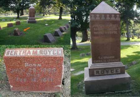 ROYCE, BERTHA M. - DuPage County, Illinois | BERTHA M. ROYCE - Illinois Gravestone Photos