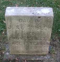 SNIBLEY, LOUISE - DuPage County, Illinois | LOUISE SNIBLEY - Illinois Gravestone Photos