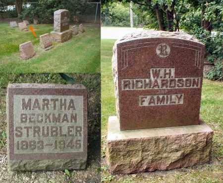 BECKMAN STRUBLER, MARTHA - DuPage County, Illinois | MARTHA BECKMAN STRUBLER - Illinois Gravestone Photos