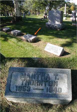 THORNTON, MARTHA T. - DuPage County, Illinois | MARTHA T. THORNTON - Illinois Gravestone Photos