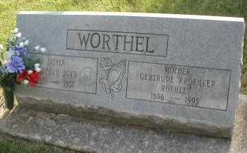 WORTHEL, ARTHUR BOYD - DuPage County, Illinois | ARTHUR BOYD WORTHEL - Illinois Gravestone Photos