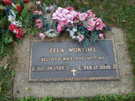 WORTHEL, ZELA - DuPage County, Illinois   ZELA WORTHEL - Illinois Gravestone Photos