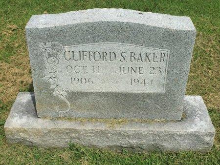 BAKER, CLIFFORD S - Franklin County, Illinois   CLIFFORD S BAKER - Illinois Gravestone Photos