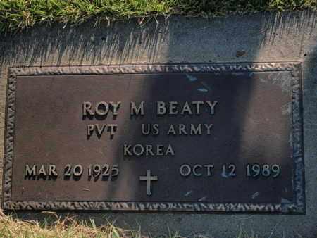 BEATY (VETERAN KOR), ROY M - Franklin County, Illinois | ROY M BEATY (VETERAN KOR) - Illinois Gravestone Photos