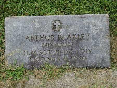 BLAKLEY (VETERAN), ARTHUR - Franklin County, Illinois | ARTHUR BLAKLEY (VETERAN) - Illinois Gravestone Photos