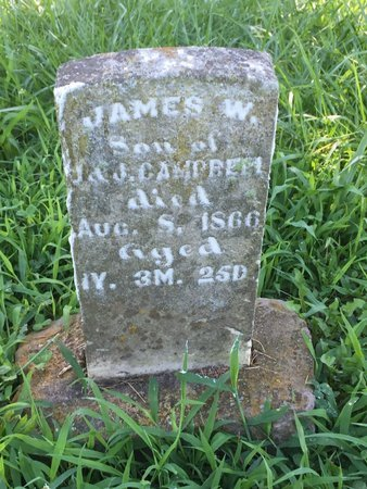 CAMPBELL, JAMES W - Franklin County, Illinois | JAMES W CAMPBELL - Illinois Gravestone Photos