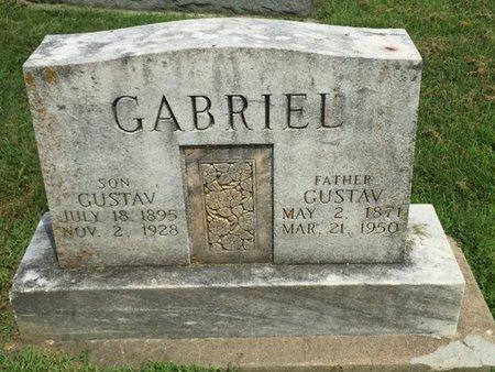 GABRIEL, GUSTAV - Franklin County, Illinois | GUSTAV GABRIEL - Illinois Gravestone Photos
