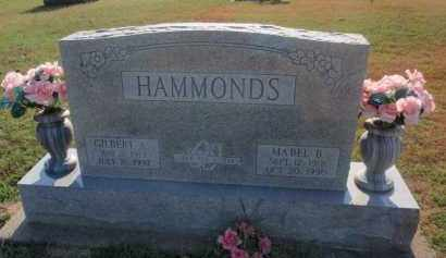 HAMMONDS, GILBERT A - Franklin County, Illinois | GILBERT A HAMMONDS - Illinois Gravestone Photos