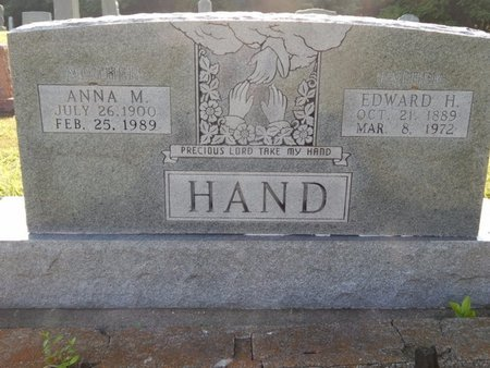 HAND, EDWARD H - Franklin County, Illinois | EDWARD H HAND - Illinois Gravestone Photos