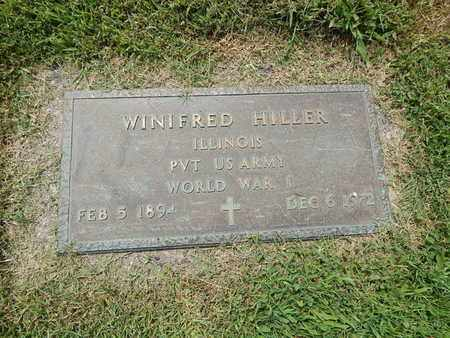 HILLER (VETERAN WWI), WINIFRED - Franklin County, Illinois | WINIFRED HILLER (VETERAN WWI) - Illinois Gravestone Photos