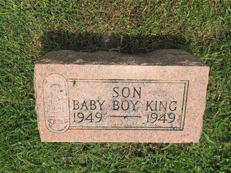 KING, SON - Franklin County, Illinois | SON KING - Illinois Gravestone Photos