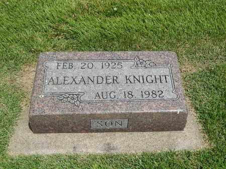 KNIGHT, ALEXANDER - Franklin County, Illinois | ALEXANDER KNIGHT - Illinois Gravestone Photos