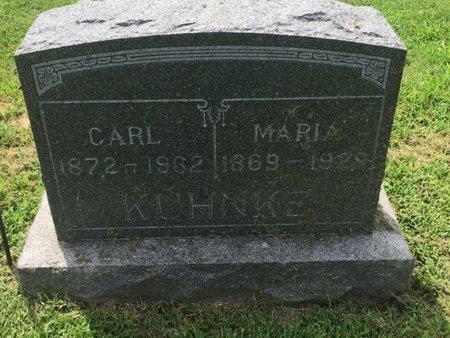 PAKULL KUHNKE, MARIA - Franklin County, Illinois | MARIA PAKULL KUHNKE - Illinois Gravestone Photos
