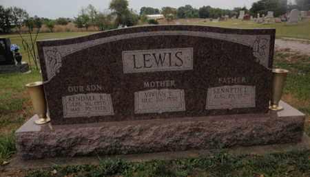 LEWIS, KENDALL R - Franklin County, Illinois | KENDALL R LEWIS - Illinois Gravestone Photos