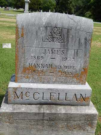MCCLELLAN, HANNAH - Franklin County, Illinois   HANNAH MCCLELLAN - Illinois Gravestone Photos