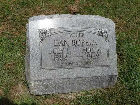 ROPELE, DAN - Franklin County, Illinois | DAN ROPELE - Illinois Gravestone Photos