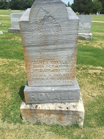 ROYALL, JAMES - Franklin County, Illinois | JAMES ROYALL - Illinois Gravestone Photos