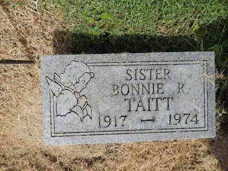 TAITT, BONNIE R - Franklin County, Illinois | BONNIE R TAITT - Illinois Gravestone Photos