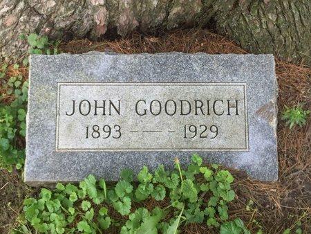 GOODRICH, JOHN - Grundy County, Illinois | JOHN GOODRICH - Illinois Gravestone Photos