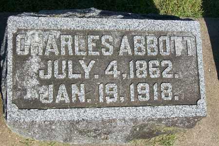 ABBOTT, CHARLES - Hancock County, Illinois   CHARLES ABBOTT - Illinois Gravestone Photos