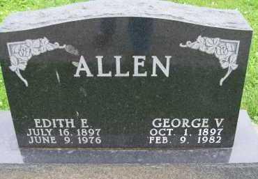 ALLEN, EDITH E. - Hancock County, Illinois | EDITH E. ALLEN - Illinois Gravestone Photos