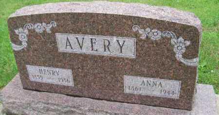 AVERY, HENRY - Hancock County, Illinois | HENRY AVERY - Illinois Gravestone Photos