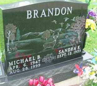 BRANDON, MICHAEL B. - Hancock County, Illinois | MICHAEL B. BRANDON - Illinois Gravestone Photos