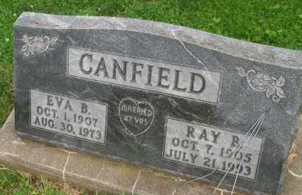 CANFIELD, EVA B. - Hancock County, Illinois | EVA B. CANFIELD - Illinois Gravestone Photos