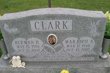CLARK, MARJORIE A. - Hancock County, Illinois | MARJORIE A. CLARK - Illinois Gravestone Photos