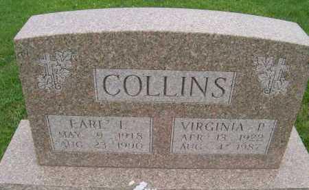 COLLINS, VIRGINIA P. - Hancock County, Illinois | VIRGINIA P. COLLINS - Illinois Gravestone Photos
