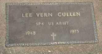CULLEN, LEE VERN - Hancock County, Illinois | LEE VERN CULLEN - Illinois Gravestone Photos