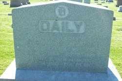 DAILY, OLIVE - Hancock County, Illinois | OLIVE DAILY - Illinois Gravestone Photos