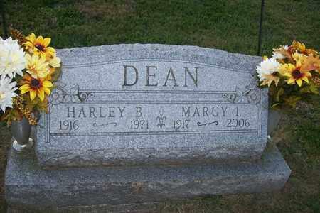 DEAN, MARGY I. - Hancock County, Illinois | MARGY I. DEAN - Illinois Gravestone Photos