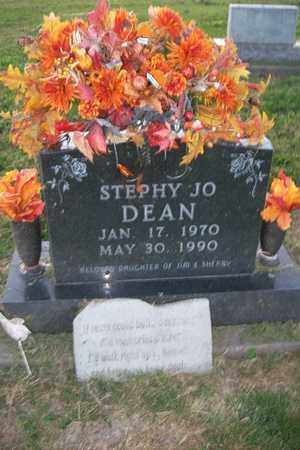 DEAN, STEPHY JO - Hancock County, Illinois | STEPHY JO DEAN - Illinois Gravestone Photos