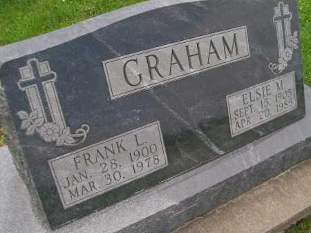 GRAHAM, ELSIE M. - Hancock County, Illinois   ELSIE M. GRAHAM - Illinois Gravestone Photos