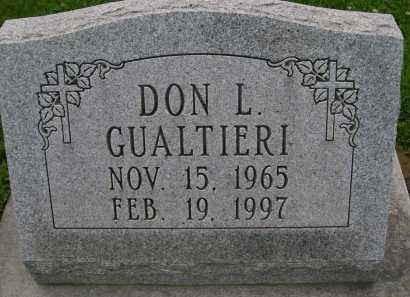 GUALTIERI, DON L. - Hancock County, Illinois | DON L. GUALTIERI - Illinois Gravestone Photos