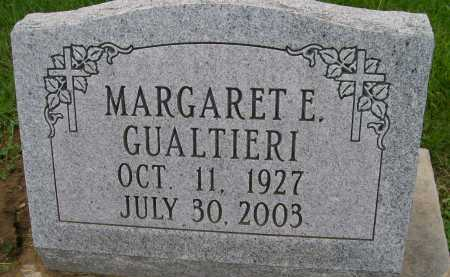 GUALTIERI, MARGARET E. - Hancock County, Illinois | MARGARET E. GUALTIERI - Illinois Gravestone Photos