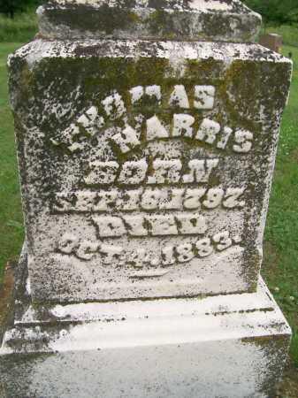 HARRIS, THOMAS - Hancock County, Illinois | THOMAS HARRIS - Illinois Gravestone Photos