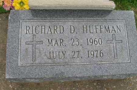HUFFMAN, RICHARD D. - Hancock County, Illinois   RICHARD D. HUFFMAN - Illinois Gravestone Photos