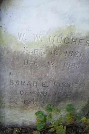 HUGHES, WILLIAM WOODFORD - Hancock County, Illinois | WILLIAM WOODFORD HUGHES - Illinois Gravestone Photos