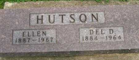 HUTSON, ELLEN - Hancock County, Illinois | ELLEN HUTSON - Illinois Gravestone Photos