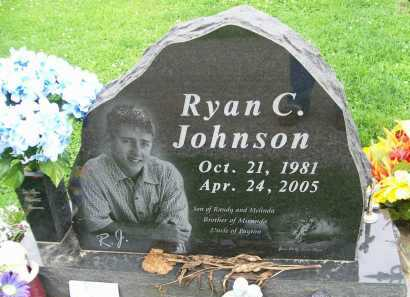 JOHNSON, RYAN C. - Hancock County, Illinois   RYAN C. JOHNSON - Illinois Gravestone Photos