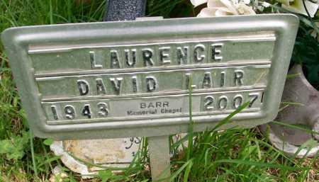 LAIR, LAURENCE DAVID - Hancock County, Illinois   LAURENCE DAVID LAIR - Illinois Gravestone Photos